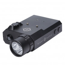 Sightmark LoPro Combo Flashlight (Visible And IR) And Green Laser Sight - Matte Black