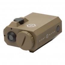 Sightmark Lopro Mini Green Laser Sight - Dark Earth