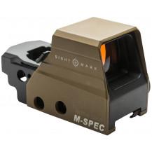 Sightmark Ultra Shot M-Spec FMS Reflex Sight - Dark Earth