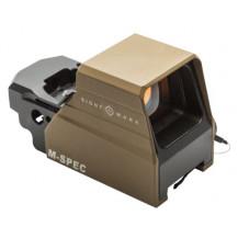 Sightmark Ultra Shot M-Spec LQD Reflex Sight - Dark Earth