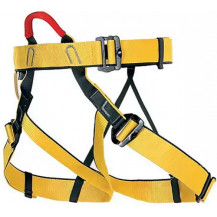 Singing Rock Top Harness - One Size, Yellow Back View
