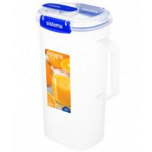 Sistema Klip It Plus Utility Juice Plastic Container - 2 Litre