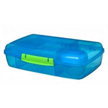 Sistema Lunch Bento Lunch Box - 1.76 Litre, Box, Blue