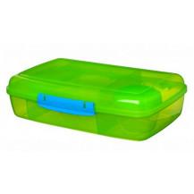 Sistema Lunch Bento Lunch Box - 1.76 Litre, Box, Green