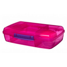 Sistema Lunch Bento Lunch Box - 1.76 Litre, Box, Pink