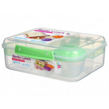 Sistema To Go Bento Lunch Box - 1,65 Litre, Lunch, Green
