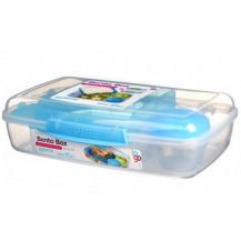 Sistema To Go Bento Lunch Box - 1.76 Litre, Box, Blue