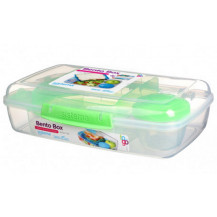 Sistema To Go Bento Lunch Box - 1.76 Litre, Box, Green