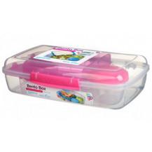 Sistema To Go Bento Lunch Box - 1.76 Litre, Box, Pink