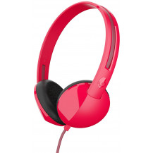 Skullcandy Anti On-Ear Wired Headphones - Red/Burgundy