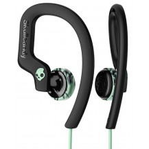Skullcandy Chops Flex Sport In-Ear Wired Earphones - Black/Mint