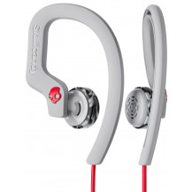 Skullcandy Chops Flex Sport In-Ear Wired Earphones - Grey/Red