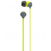 Skullcandy JIB Earphones Without Mic - Grey/Hot Lime