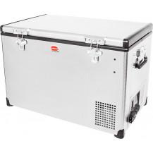 SnoMaster Stainless Steel Portable Fridge/Freezer - 75L, AC/DC