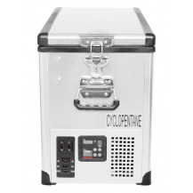 SnoMaster Stainless Steel Portable Fridge/Freezer - 42L, AC/DC