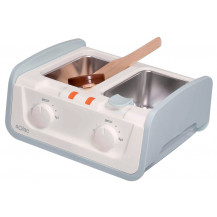 Solac Depil Center 2 Tub Wax Heater - White