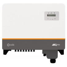 Solis 5G 3 Phase Triple MPPT Inverters - 25kW, DC, Pack of 4 Front View