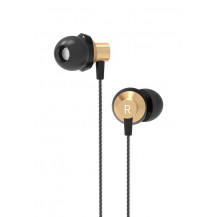Orico Soundplus RM1 In-Ear Headphones - Gold