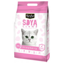 Kit Cat Soya Clump Cat Litter - 2.8kg, Strawberry