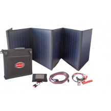 SnoMaster Portable Folding Solar Panel Kit - 125W