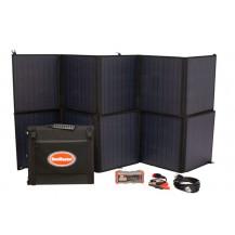 SnoMaster Portable Folding Solar Panel Kit - 200W