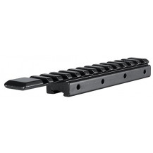"""Hawke 1 Piece Adapter Base - 3/8"""" Rifle/11mm Airgun to Weaver/Picatinny"""