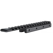 """Hawke 1 Piece Extension Adapter Base - 3/8"""" Rifle/11mm Airgun to Weaver/Picatinny"""