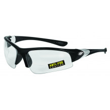 SSP Eyewear Entiat 2.00 Bifocal Reader/Safety Glasses - Black, Clear