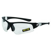 SSP Eyewear Entiat 2.00 Bifocal Reader/Safety Glasses - Black, Clear
