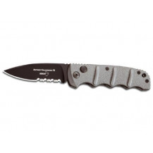 Boker Plus AKS 74 Automatik Black Folding Knife - 01KALS74B