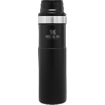 Stanley Trigger-Action Travel Mug - 0.47L, Black