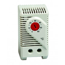 Stego KTO 011 Thermostat - 20 C to +80 C, N/C, 10 A, 250 VAC, DIN Mount
