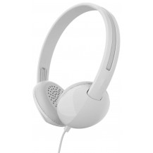 Skullcandy Stim On-Ear Headphones - White/Gray