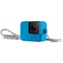 GoPro Sleeve & Lanyard - Blue