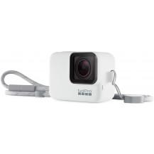 GoPro Sleeve & Lanyard - White