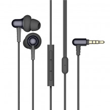 1More Stylish Dual-Dynamic Driver In-Ear Headphones - Black