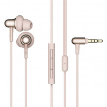1More Stylish Dual-Dynamic Driver In-Ear Headphones - Gold