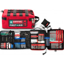 Survival Workplace First Aid Kit - Inner & Outer View