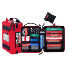 Survival Handy First Aid Kit - Outer & Inner View