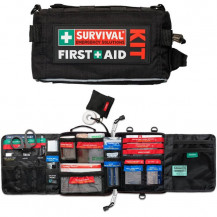 Survival Vehicle First Aid Kit - Inner & Outer View