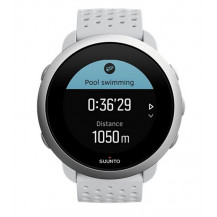 Suunto 3 GPS Sports Smart Watch - Pebble White