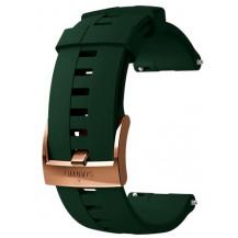Suunto Athletic 4 Silicone Strap - 24mm, Medium, Forest Copper