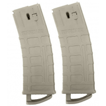 Tippmann TMC 20 Ball Paintball Gun Mags 2 pack - Tan