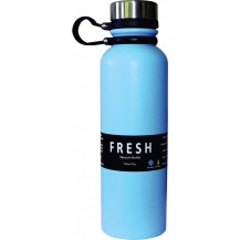 Thermosteel Fresh Stainless Steel Vacuum Bottle - 750ml, Blue