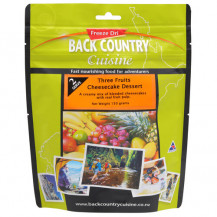 Back Country Cuisine Three Fruits Cheesecake Freeze Dried Dessert