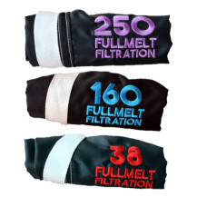 FullMelt Filtration Bubble Hash Bags 3 Piece Set - 250, 160 And 38 Microns