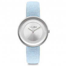 Tick and Ogle Safari Canvas Women's Watch - Blue