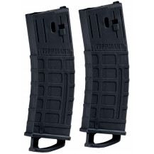 Tippmann TMC 20 Ball Paintball Gun Mags 2 Pack - Black
