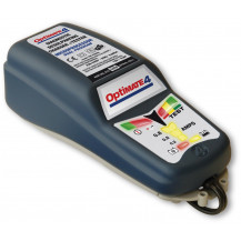 TecMate OptiMate 4 - Sealed Microprocessor Desulphating Charger/Maintainer/Tester 12V