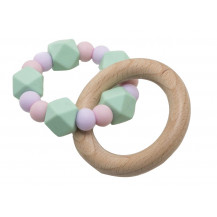 Tobbie & Co Muncher Teething Rattle - Bubbly